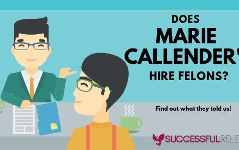 jobs for felons, company profile, Marie Callender's, restaurants