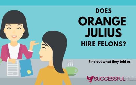 Orange Julius, restaurants, jobs for felons, company profile