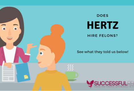 does Hertz hire felons or people with misdemeanors