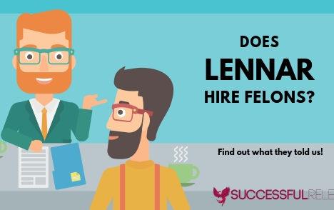 jobs for felons, company profile, Lennar, construction