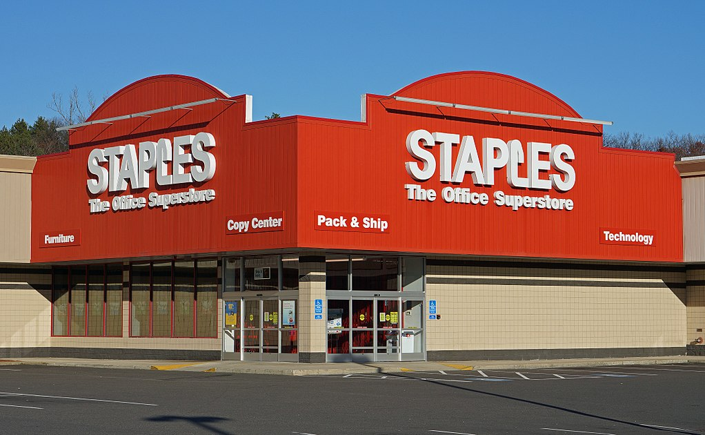 When does Staples hire felons