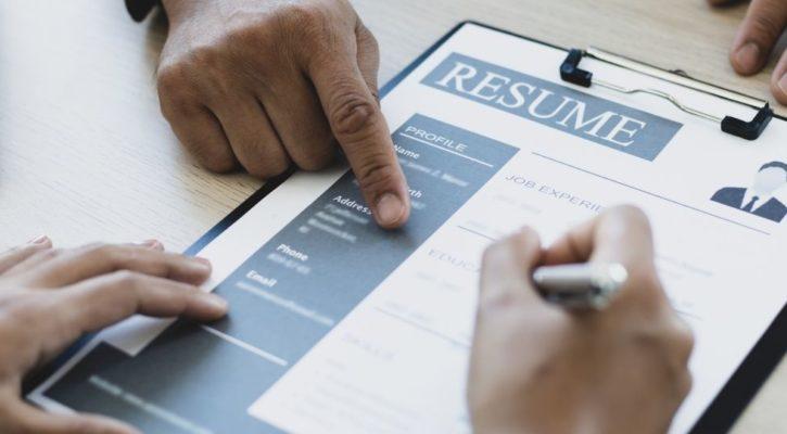 A felon creating a great resume